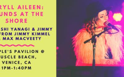 APRYLL AILEEN – Live on Venice Beach – Free Show