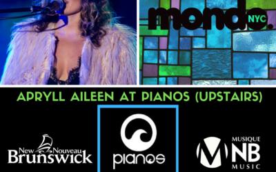 APRYLL AILEEN to Showcase at MONDO.NYC Friday